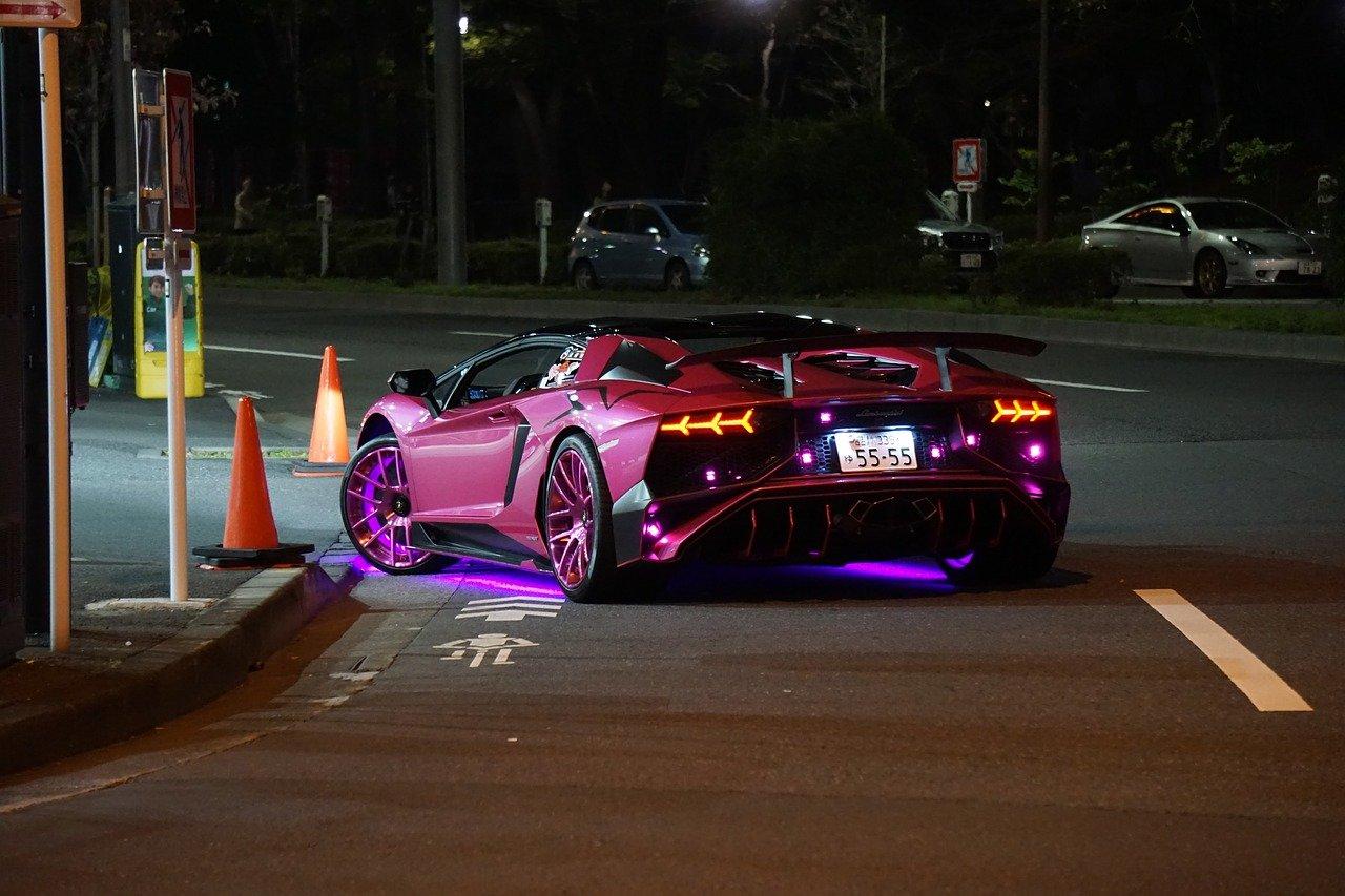 Un tour au volant d'une Lamborghini